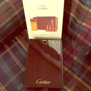Beautiful Cartier fragrance gift set!!